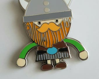 Collectible Doodlebug Design Viking warrior Limited edition numbered pin
