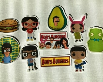 Bobs Burger Stickers