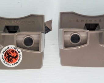 Vintage View Master Viewers