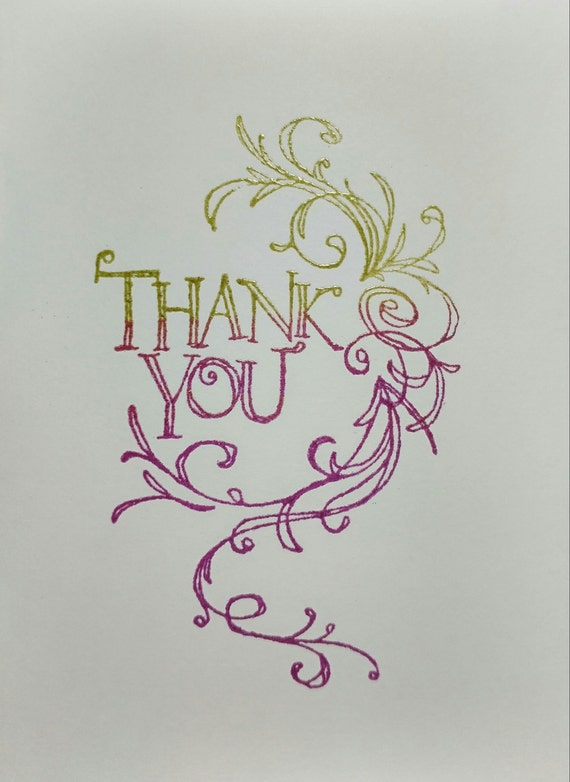 """Thank You Card 