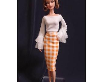 Dolls dress for Fashion royalty,,Silkstone,All barbie doll- No.0020
