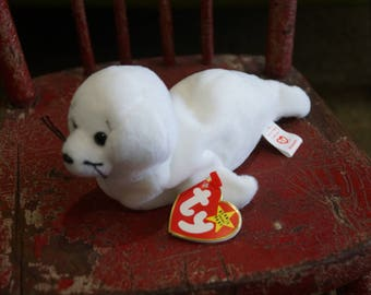 TY Beanie Babies SEAMORE the Seal 1996