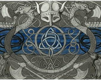 Viking Thin Blue Line