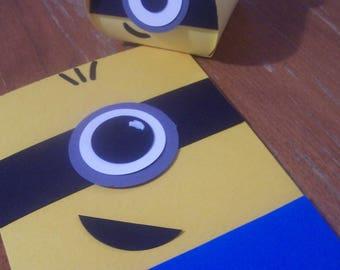 Little Yellow Guy Card & Gift Box