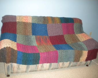 Crocheted Aghan Multicolored