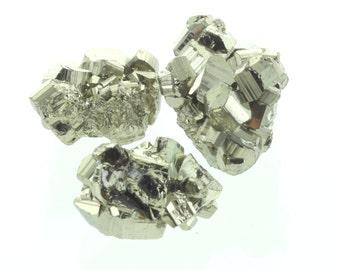 Pyrite talisman Pyrite symbol for money good luck Talisman XS (4 pieces )
