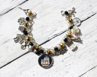 The Big Bang Theory Inspired Charm Bracelet