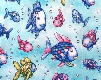 "Marcus fabrics ""The Rainbow Fish"""