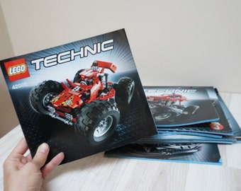16 Lego Technic building guide instruction books lot bulk scrapbooking craft supply 4918 4996 5763 5867 6743 6747 6913 31002 31006  31008
