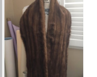 Mink stole form the 1950's perfect condition