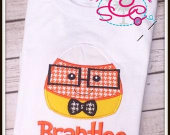 Personalized Candy Corn Shirt/Bodysuit
