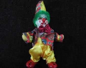 Evil Clown, Horror Clown Doll, Evil Clown, Creepy Clown, Scary Clown, OOAK, Haunted Clown, Haunted House Clown