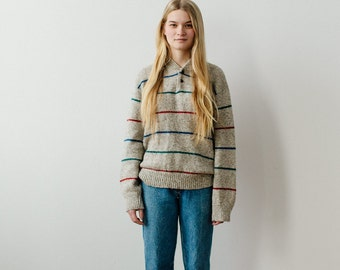 striped vintage sweater
