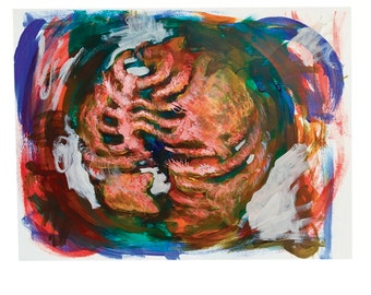 Earth - Original Acrylic Painting