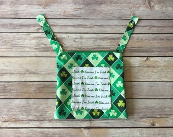 Ergo 360 Pouch, Irish Purse, Irish Gift, Ergo Pouch, Ergo Bag, Ergo Accessories, Ergo Purse, St. Patty's Day, St. Patrick's Day, Irish