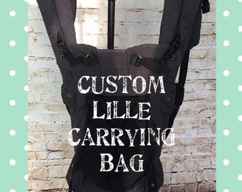 Baby Carrier Bag - Lillebaby Bag - Tula Bag - Ergo Bag - Carrying Bag - Lille Bag - Carrier Bag - Custom Lille - Custom Bag