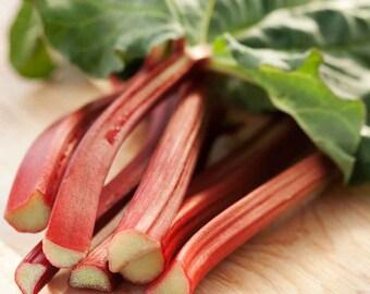 50 *HEIRLOOM* Victoria Rhubarb Seeds