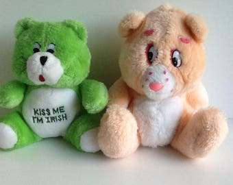 Vintage CARE BEARS Fakie Plush
