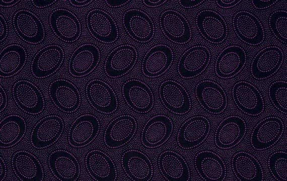 Aboriginal Dot Orchid by Kaffe Fassett Sold in 1/2 yd increments