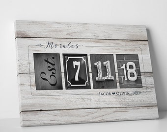 Custom Wedding Guest Book Alternative Wedding Guest Book Canvas Wedding Tree Guestbook Sign Gallery Wrapped Canvas - 5W