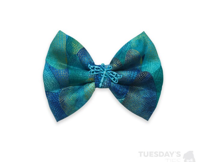 Dragonfly Wings - Teal
