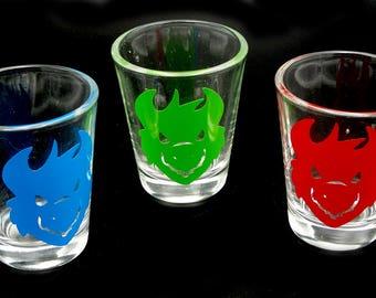 1x Custom Monster Shot Glass