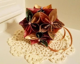 Traditional Origami Kusudama Flower Ball