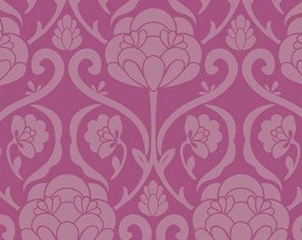 Sale-Art Gallery Fabrics - Bespoken - Pat Bravo - Jacquard Orchid- Premium Cotton