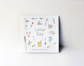 Scandinavian Lefse Day Children's Book
