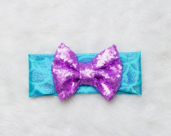 Mermaid Headband / Baby Headband