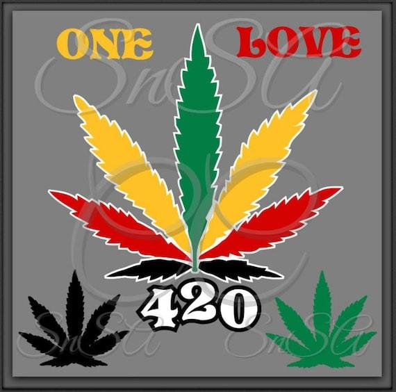 Rasta SVG Marijuana 420 Hemp Reggae Diva King Africa Freedom