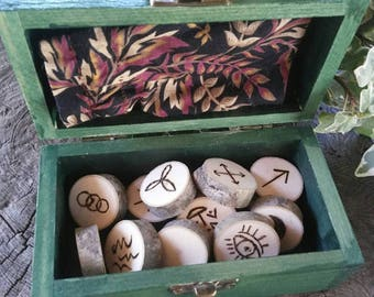 Maple Wood Witches Runes, Witches Runes, Wood Runes, Rune Set, Divination, Maple, Runes, Wooden Runes, Maple Wood, Witch Rune Set