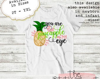 Girls Clothes - Baby Clothes - Vacation - Be A Pineapple - Toddler Shirt - Kids Clothes - Kids Clothing - Baby Clothing - Toddler Clothes