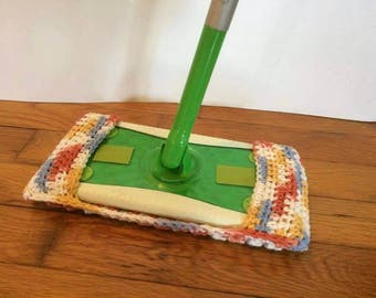 Cotton Mop Pad, Washable and Reusable, Dry or Wet Duster with Nubs, Floor Cleaning Pad, Eco Friendly, Mop Pad