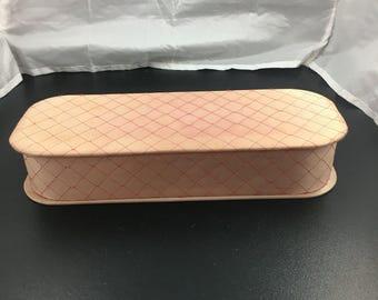 1950's pink glove box