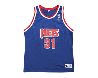 Vintage Ed O'Bannon New Jersey Nets Champion Jersey