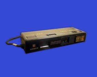 Camera Ansco 900 Tele-Motor-Telephoto-Motor Advance Wrist Strap Vintage