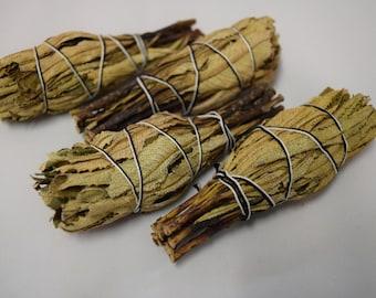 "Yerba Santa Smudge Incense 3""-4"" Bundle (4 pcs)"