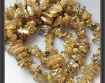 Sagenite beads
