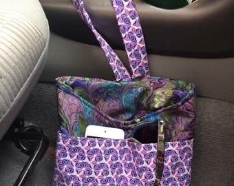 Car Caddy (swirls purple)