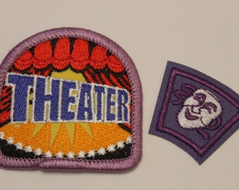 Drama Patch Pack (2) - theater comedy tragedy play stage arts acting actor