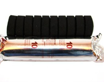 INCENSE CHARCOAL Incense Disks/Tablets (Easy light Charcoal, used for burning Frankincense, resins and incense, carbon)