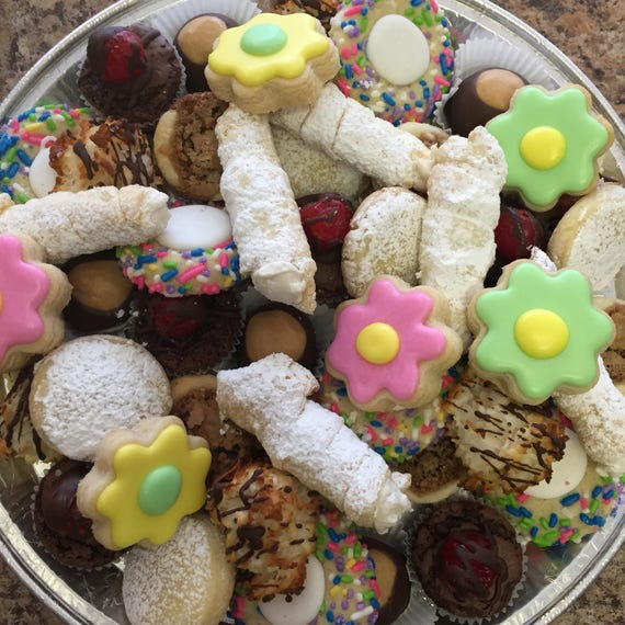 Spring Cookie Tray (Pick Up)