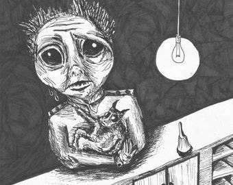 Small demon | Etsy