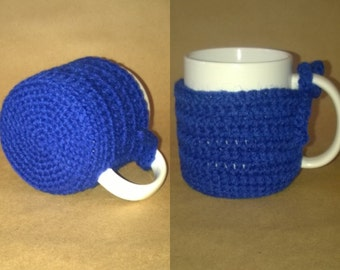 Crochet Mug Cozy with Coaster