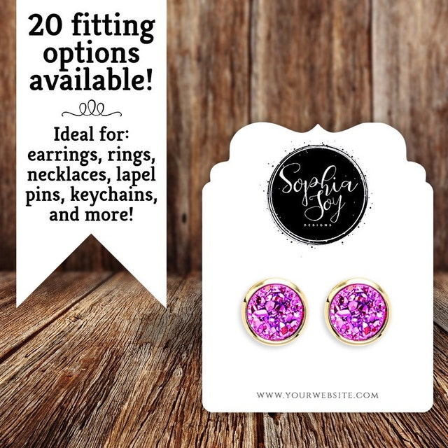 Custom Jewelry Cards Stickers Tags And More By