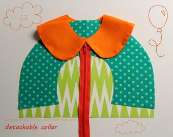 Detachable collar, double-sided