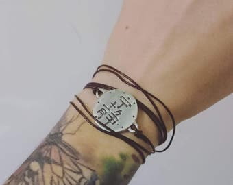 Firefly silver bracelet
