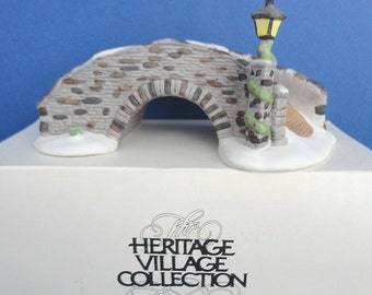 Dept 56 Stone Bridge HV Collection Accessory