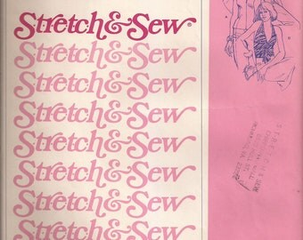 Stretch & Sew 355 Halter Tops Vintage 1974